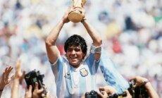 Pasaules kausa grupu izlozi vadīs leģendāri futbolisti – Linekers, Maradona un Kafu