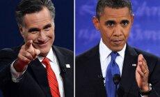 Pirmajās televīzijas debatēs Romnijs kritzē Obamas budžeta politiku