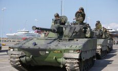 Zviedrija ierobežos ieroču pārdošanu diktatūrām