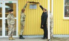 Foto: Atklāj NATO spēku integrācijas vienību Latvijā