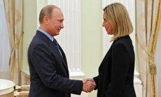 Могерини: Евросоюз не признает выборы президента России в Крыму