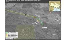 ASV publisko separātistu palaistās 'Buk' raķetes lidojuma shēmu