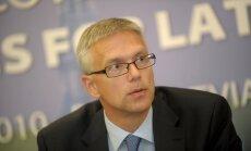 Kariņš: Auguļa šaubas par 'Rail Baltica' rada jautājumus par viņa interesēm