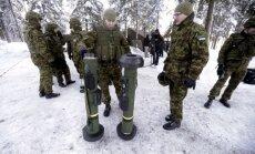 Igaunijas zemessargi un karavīri pievienojas Somijā aizsāktajai kustībai 'Odina kareivji'