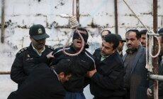 Irānā par narkotiku noziegumiem ar nāvi sodīti visi ciema vīrieši