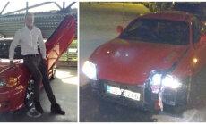 Tirdzniecībā nonācis Raspopova sportiskais 'Hyundai', tikai jau sadauzīts