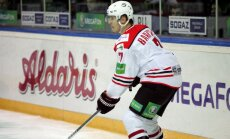Bārtulis palīdz 'Donbass' komandai sagādāt pirmo zaudējumu SKA hokejistiem