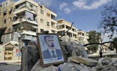 Sīrijas opozīcija noraida jebkādu risinājumu, kurā būtu iesaistīts Asads
