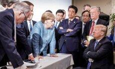 """Трамп тоже прокомментировал """"плохое фото"""" с Меркель"""