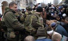 Zaharčenko draud ieņemt visu Doņeckas apgabalu; pamiera vairs nebūšot