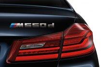 Četras turbīnas dīzeļdzinējam – jaunā 'BMW M550d' modifikācija