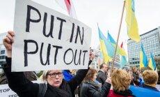 ES un ASV apstiprina sankcijas pret Krievijas un Krimas amatpersonām
