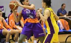 'TTT Rīga' basketbolistes ar pārliecinošu uzvaru noslēdz Austrumeiropas Sieviešu basketbola līgas pirmo posmu