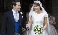 Foto: Smalkākās kāzas britu augstākajā sabiedrībā