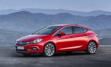 Pirmie attēli ar jauno 'Opel Astra' modeli