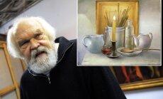 Vecmeistars Dobrājs lūdz palīdzību: dāvā gleznu apmaiņā pret īres segšanu