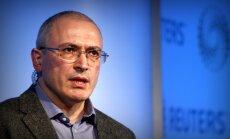 """Ходорковский запустил проект """"Вместо Путина"""""""