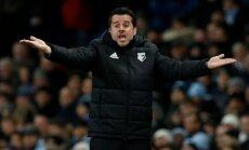 'Watford' atlaiž 'Everton' iepriekš iekāroto galveno treneri Silvu; nolīgst Grasiju