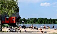 Rīgā gaidāms stiprs karstums, brīdina sinoptiķi
