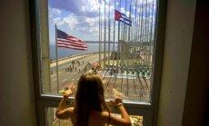 Tramps sola sagraut Obamas atjaunotās attiecības ar Kubu