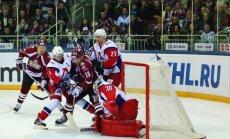Heikila apmierināts ar Rīgas 'Dinamo' hokejistu pašatdevi mačā pret 'Lokomotiv'