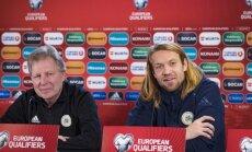 Starkovs: Gorkšs ierindojams vienā rindā ar Latvijas izcilākajiem futbolistiem