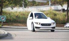 Kanādā ražošanā ievieš vienvietīgu trīsriteņu elektromobili
