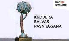 Tiešraide: 'Krodera balvas' pasniegšana Valmierā