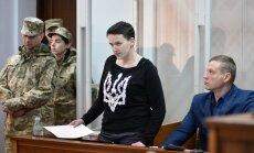Месяц ареста Надежды Савченко: следствие пока молчит