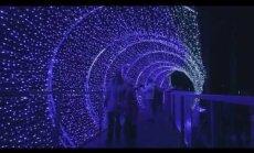 ФОТО. В Юрмале открылся самый большой Парк света в Латвии