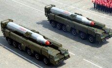 Pēc Ziemeļkorejas draudiem 'ļoti noraizējusies' ir pat Ķīna