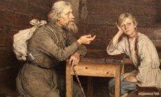 Foto: Ieskats izstādē 'Krievu mākslas zelta klasika'
