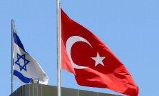 Izraēla un Turcija paziņo par diplomātisko attiecību normalizāciju