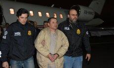 Meksikāņu narkobarons 'El Chapo' izdots ASV