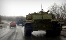 Caur Luhansku uz fronti ik dienas dodas līdz četrām teroristu apgādes kolonnām