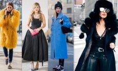 Kā ģērbsimies janvārī? 31 modes salikums katrai mēneša dienai