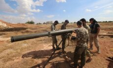 Foto: Sīrijas nemiernieki liek lietā elles mašīnas 'Grad' 'kabatas' versiju
