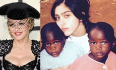 58 gadus vecā Madonna adoptē malāviešu dvīnes