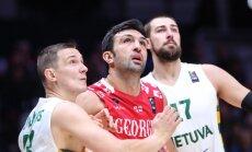 Литовцы с трудом отправили сборную Грузии домой