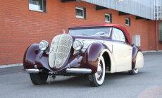 Foto: Rīgas Motormuzejs demonstrē divus ekskluzīvus jaunumus – 'Tatra 87' un 'Steyr 220'