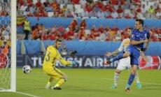 ВИДЕО, ФОТО: Испанцы не забили пенальти, проиграли хорватам и вышли в 1/8 на Италию
