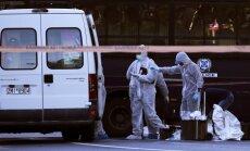 Francijas vēstniecības Atēnās virzienā mests spridzeklis, ievainojot vienu cilvēku