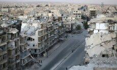 ANO Cilvēktiesību padome rezolūcijā aicina izmeklēt vardarbību Alepo