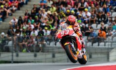 'MotoGP' Austrijas posma 'pole position' izcīna Marks Markess