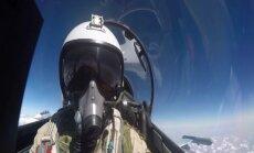 Otru notriektā Krievijas Su-24 pilotu izglābusi Sīrijas armija