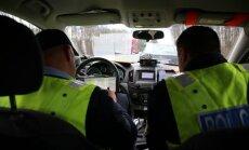 Ceļu policija noķērusi 17 'dzērājšoferus'