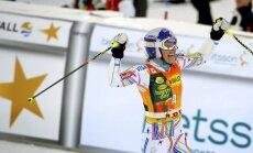 Titulētā kalnu slēpotāja Vona izcīna pirmo uzvaru kopš atgriešanās sacensību apritē