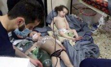 Sīrija aicina ķīmisko ieroču inspektorus izmeklēt uzbrukumu Dumai