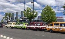 Sākusies mikroautobusu 'Latvija' ekspedīcija uz Vladivostoku – pieveikti pirmie 2000 kilometri