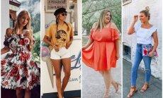 Augusta modes salikumi: 31 tērpu ideja katrai mēneša dienai
